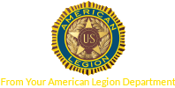 Back American Legion Logo